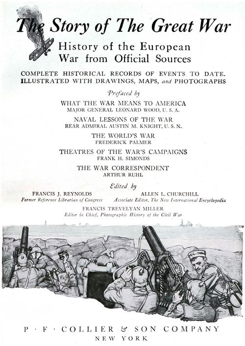 The Project Gutenberg Ebook Of The Story Of The Great War Volume I