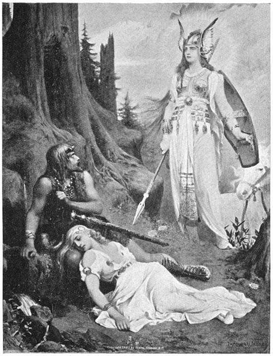 Brunhild and Siegmund