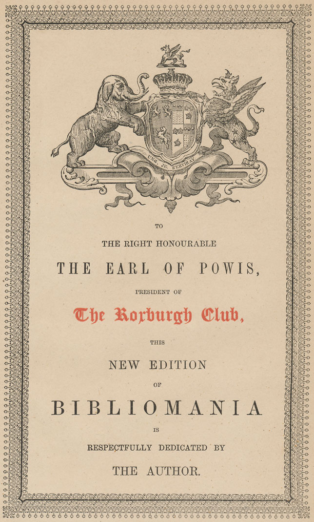 The Project Gutenberg eBook of Bibliomania; or Book-Madness, by ...
