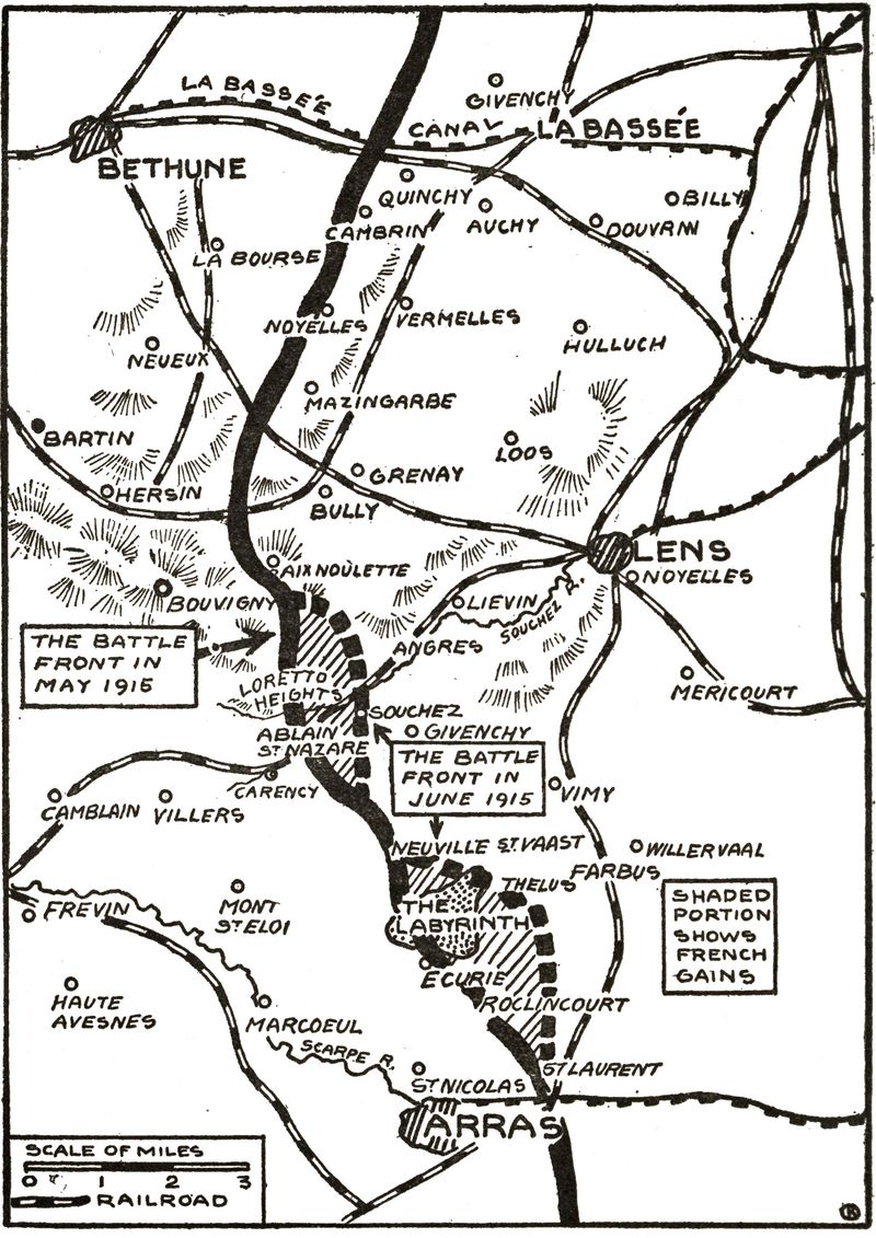 The project gutenberg ebook of the story of the great war volume the battles in artois fandeluxe Gallery