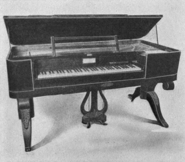 The Project Gutenberg eBook of How The Piano Came To Be, by Ellye.