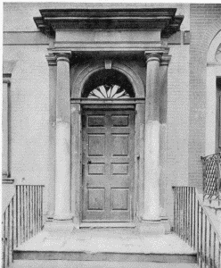 The project gutenberg ebook of the colonial architecture of plate xxviidoorway powel house 244 south third street doorway fandeluxe Gallery