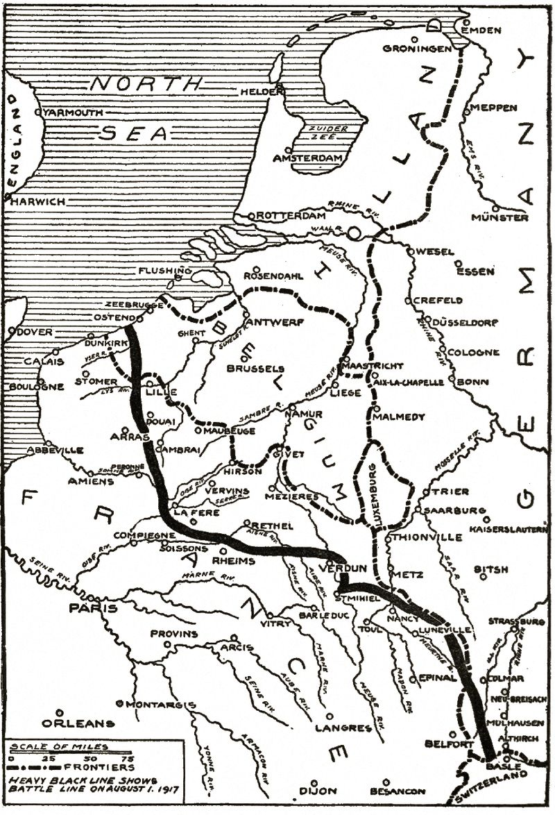 The Project Gutenberg eBook of The Story of the Great War, Volume VI ...