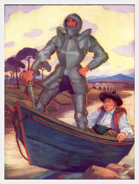 The project gutenberg ebook of the story of don quixote by arvid don quixote insisted that the boat had been sent by magic to fetch him to fandeluxe Ebook collections
