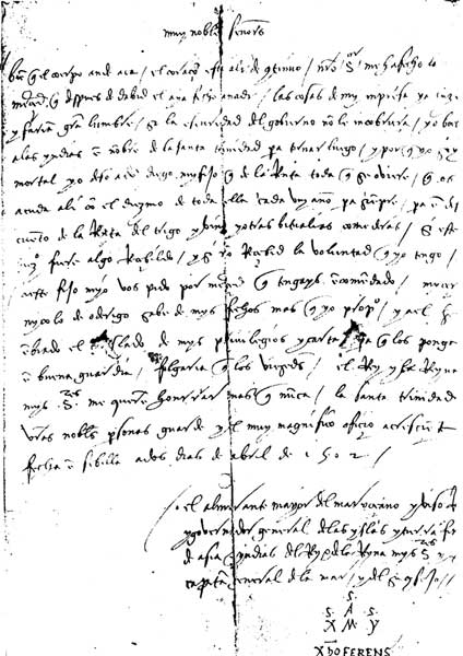 Christopher Columbus Letter To King Ferdinand.The Project Gutenberg Ebook Of Christopher Columbus And His