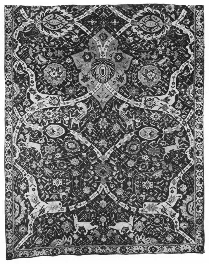 The project gutenberg ebook of antique tabriz silk rug by rosa belle holt