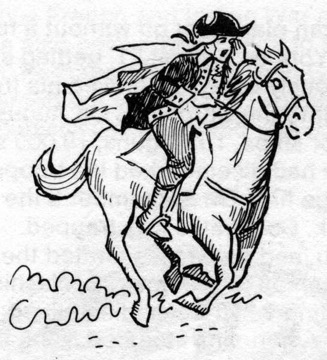 How to draw paul revere
