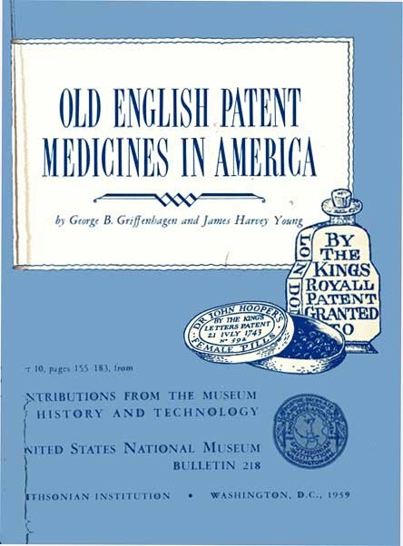 The project gutenberg ebook of old english patent medicines in contributions from the museum of history fandeluxe Gallery