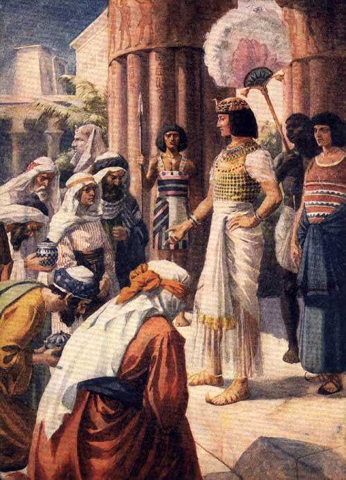 Joseph King of Egypt Joseph as Ruler of Egypt