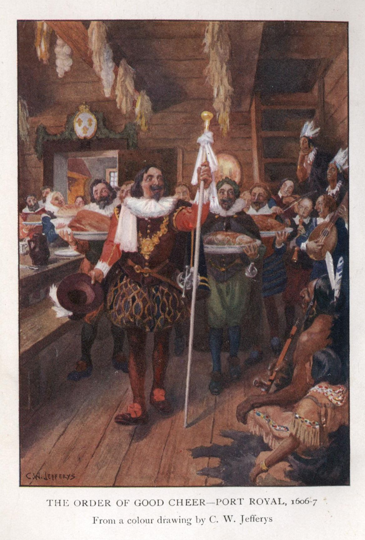 THE ORDER OF GOOD CHEER PORT ROYAL 1606 7
