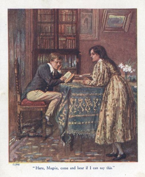 the project gutenberg e text of tom and maggie tulliver by anonymous