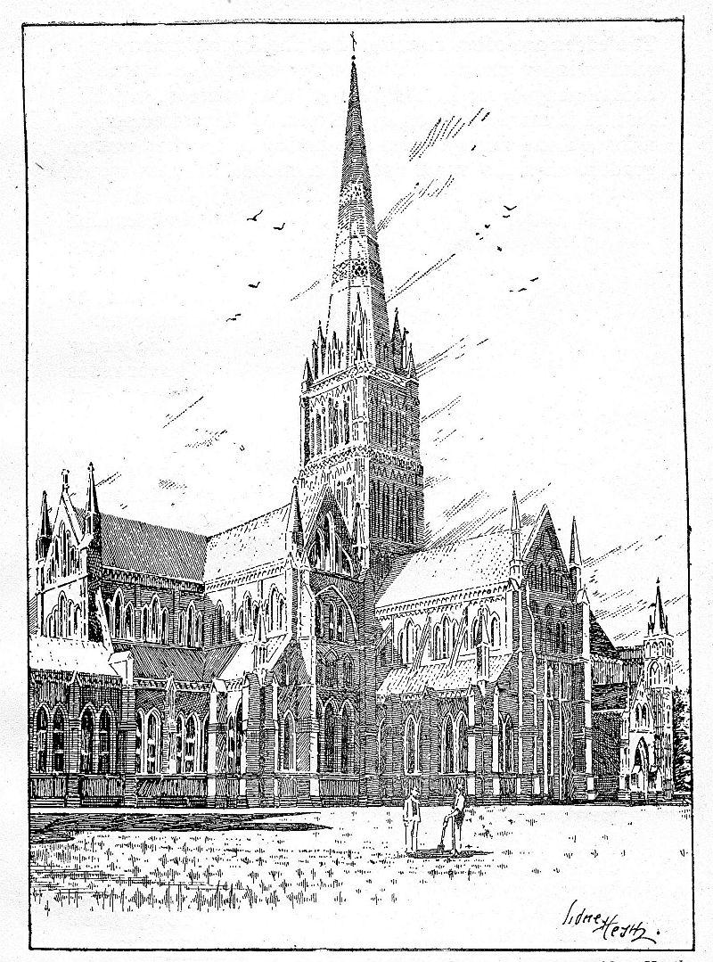 Salisbury Cathedral Drawings Salisbury Cathedral