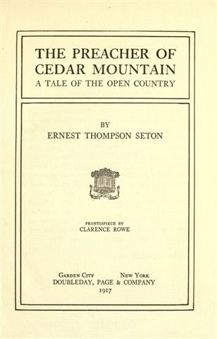 The Project Gutenberg Ebook Of The Preacher Of Cedar Mountain By
