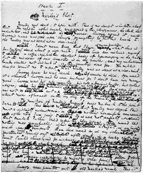 Original manuscript of Page 1.