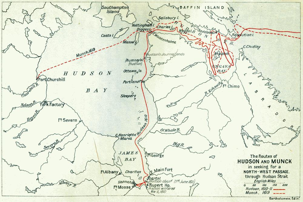 Henry Hudson River Map