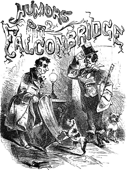 The Project Gutenberg Ebook Of Humors Of Falconbridge By Jonathan F