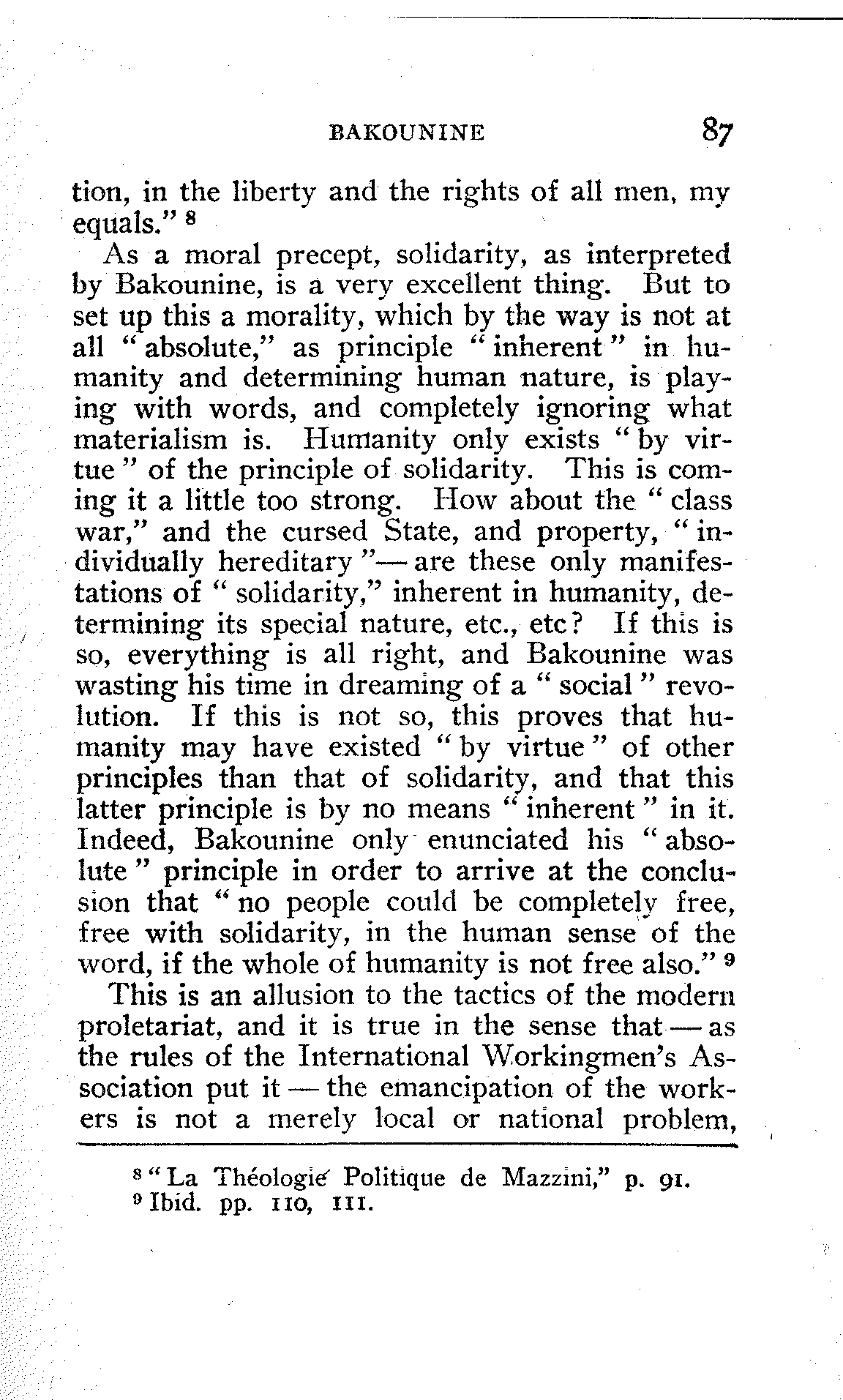The Project Gutenberg Ebook Of Anarchism And Socialism, By George Plechanoff