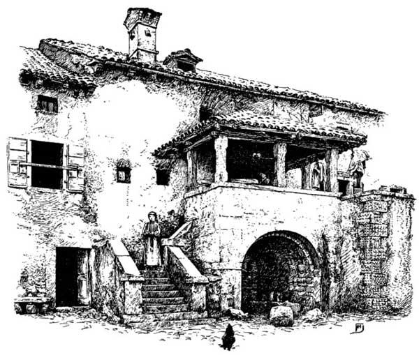 AN ISTRIAN FARM HOUSE