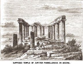 Supposed Temple of Jupiter Panhellenius in Ægina