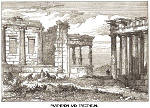 Parthenon and Erectheum