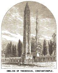 Obelisk of Theodosius, Constantinople