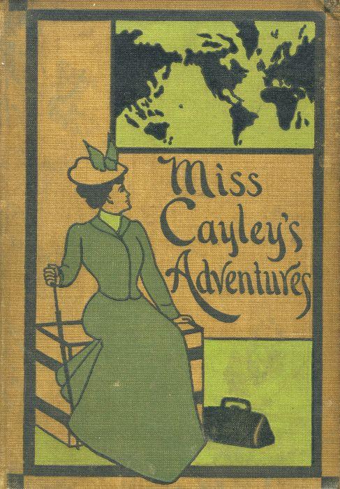 The project gutenberg ebook of miss cayleys adventures by grant allen book cover fandeluxe Gallery