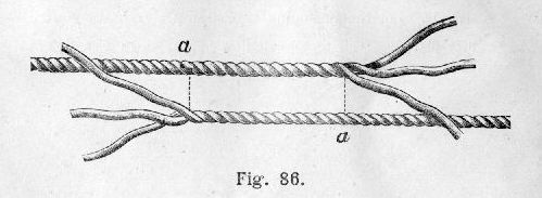 The Project Gutenberg E-text of Knots, Bends, Splices by J ...