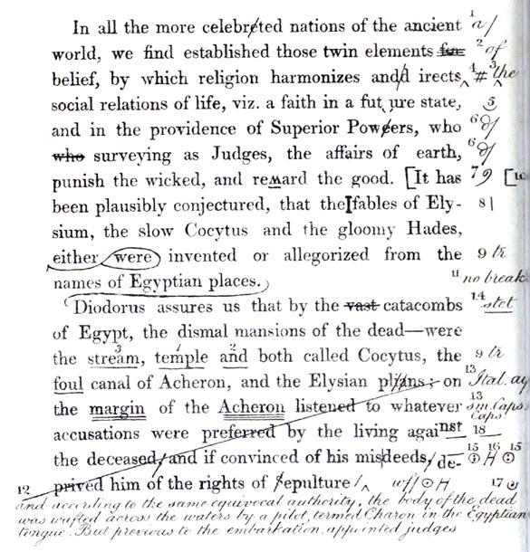 marking corrections essays