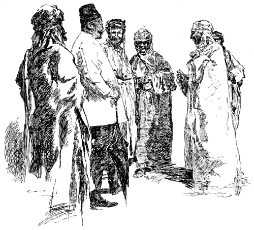 ARABS CONVERSING WITH A TURK.