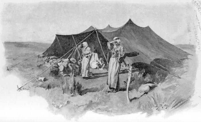 THE KURDISH ENCAMPMENT.