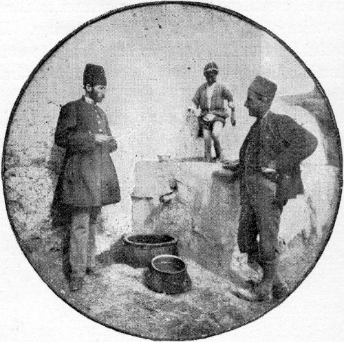 A PERSIAN WINE-PRESS.