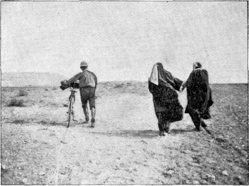 FEMALE PILGRIMS ON THE ROAD TO MESHED.