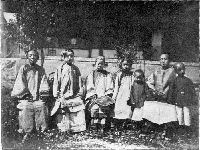 THE FORMER MILITARY COMMANDER OF KULDJA AND HIS FAMILY.