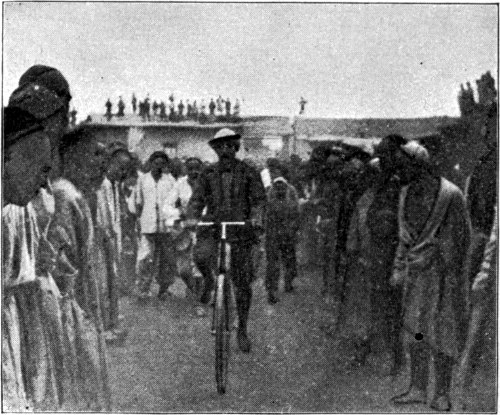 RIDING BEFORE THE GOVERNOR OF MANAS.