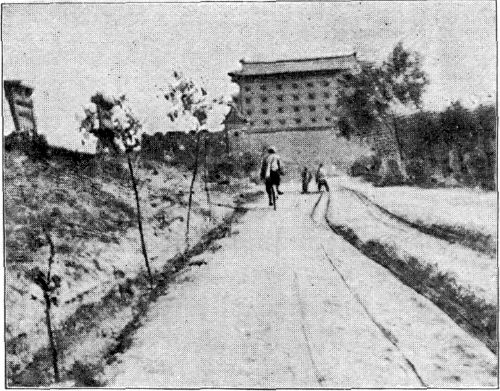 ENTERING TONG-QUAN BY THE WEST GATE.