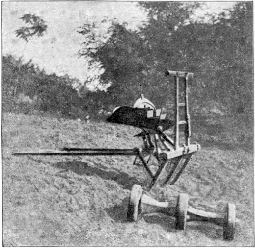 A CHINESE SEEDING-DRILL.