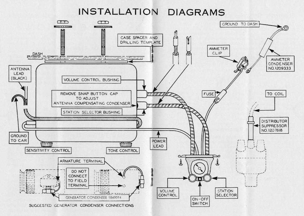 How To Start A Mini Moto moreover Delco Remy Starter Wiring Diagram moreover Cat Vr6 Voltage Regulator as well How Altenators Work further Battery Terminal Conversion. on 12 volt delco generator wiring diagram related pictures