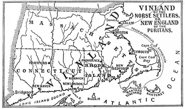 Vinland Map High Resolution Map Map of Vinland