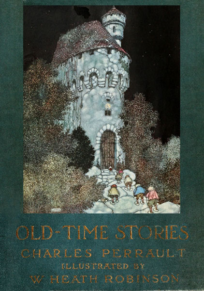 The project gutenberg e book of old time stories by charles perrault coverpage fandeluxe Image collections