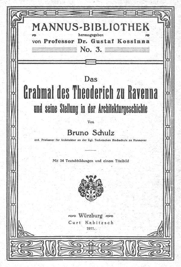 The Project Gutenberg Ebook Of Das Grabmal Des Theoderich Zu