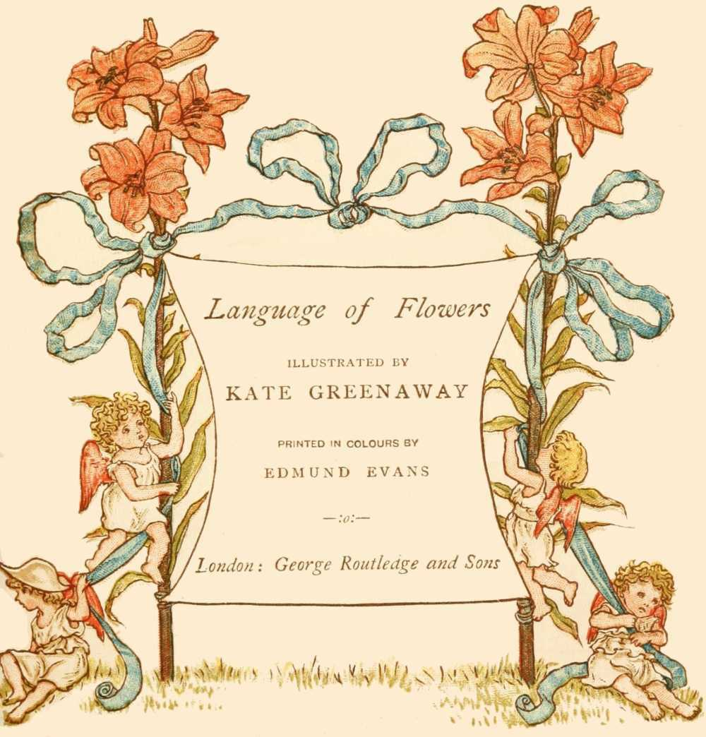 The project gutenberg ebook of language of flowers by kate greenaway image not available izmirmasajfo