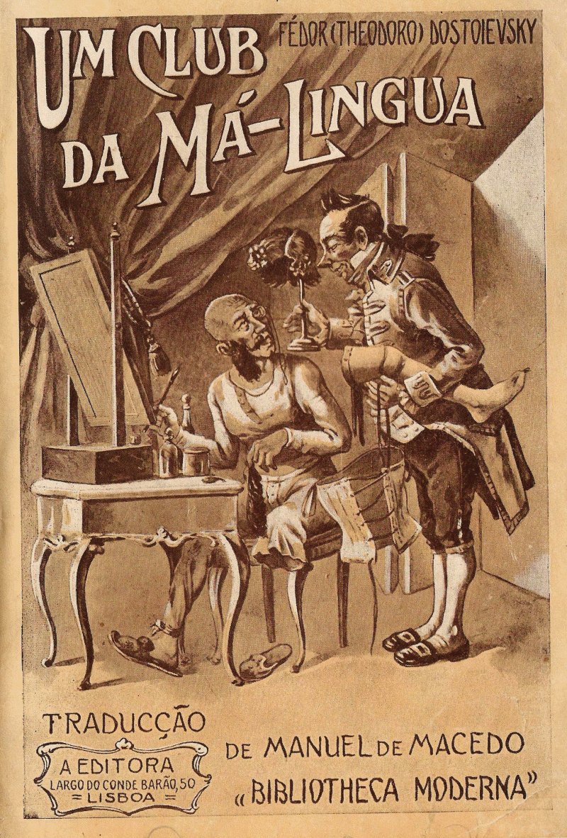 Um club da m lingua por dostoyevsky o sonho do principe gavrila fandeluxe Choice Image