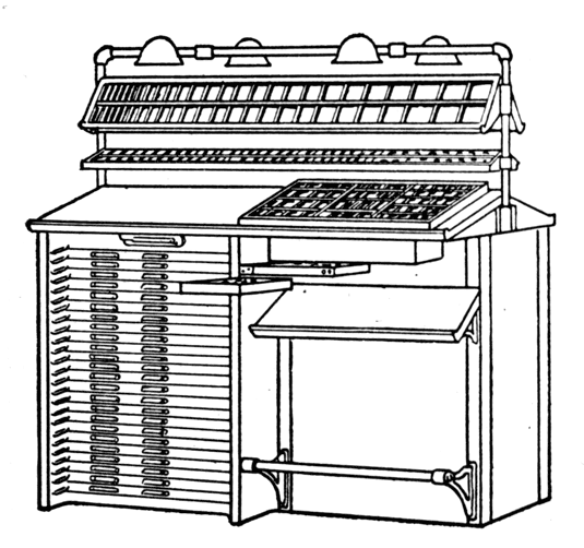 The Project Gutenberg eBook of Type Cases And Composing-Room ...