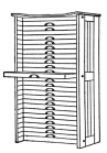 Fig. 34. Extension Front Case Rack.