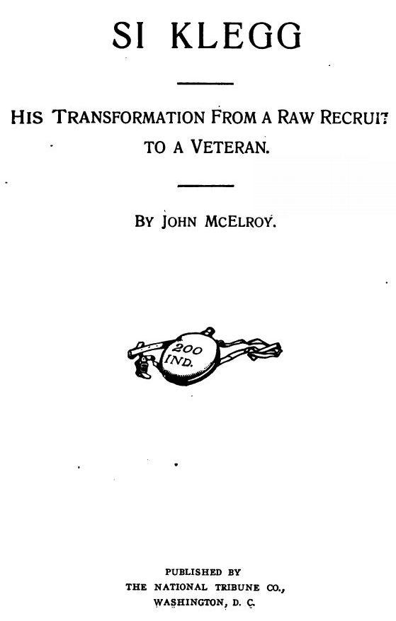 Si Klegg By John Mcelroy