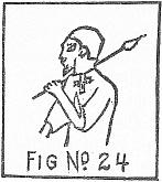Shari wearing pectoral cross