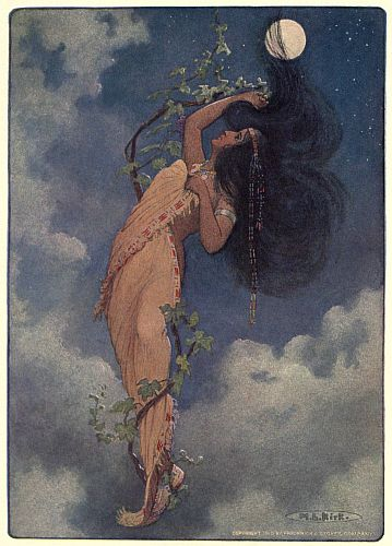 The project gutenberg ebook of the story of hiawatha by henry from the full moon fell nokomispage 123 fandeluxe Gallery