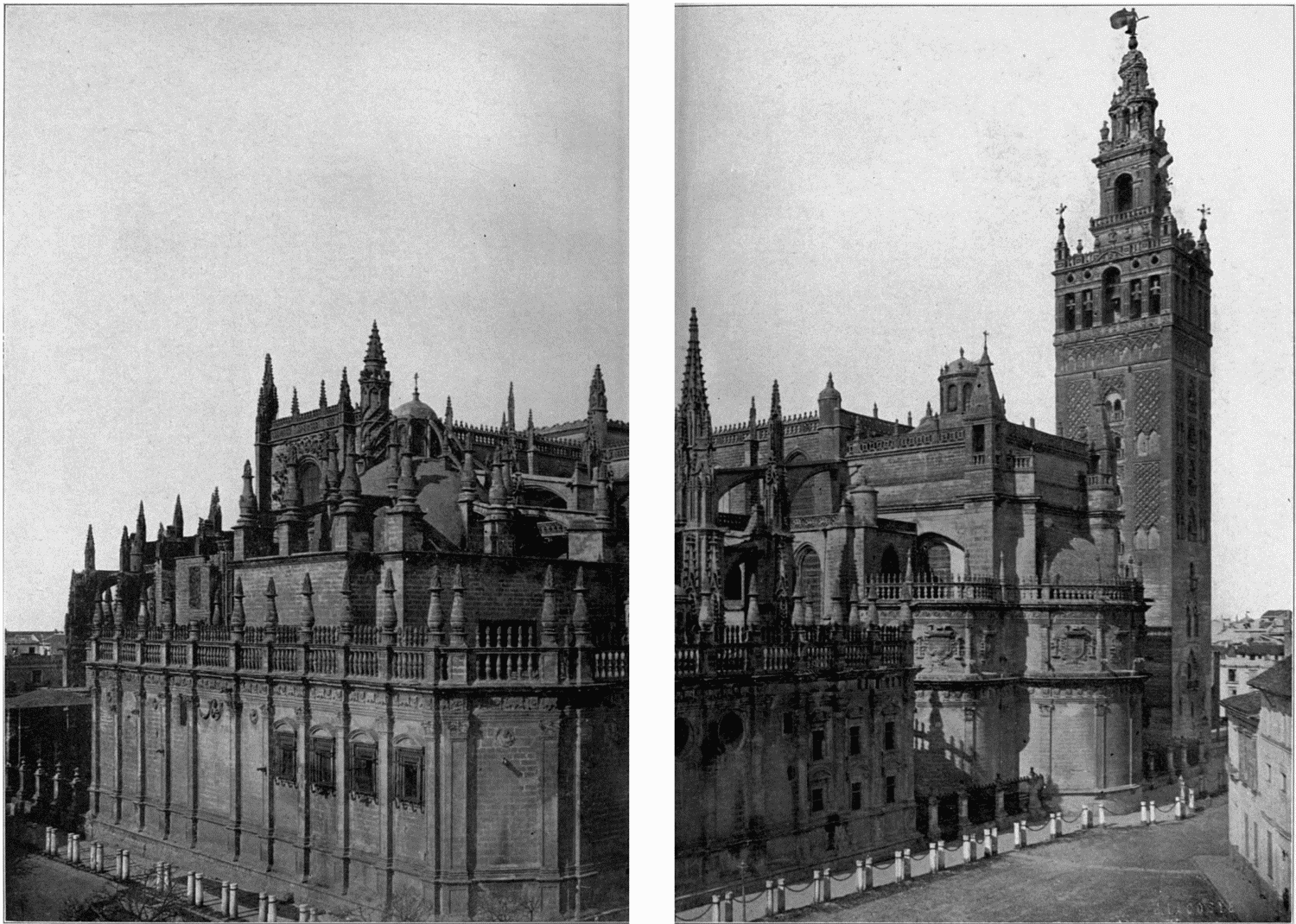 The project gutenberg ebook of cathedrals of spain by john a john cathedral of seville and the giralda fandeluxe Gallery
