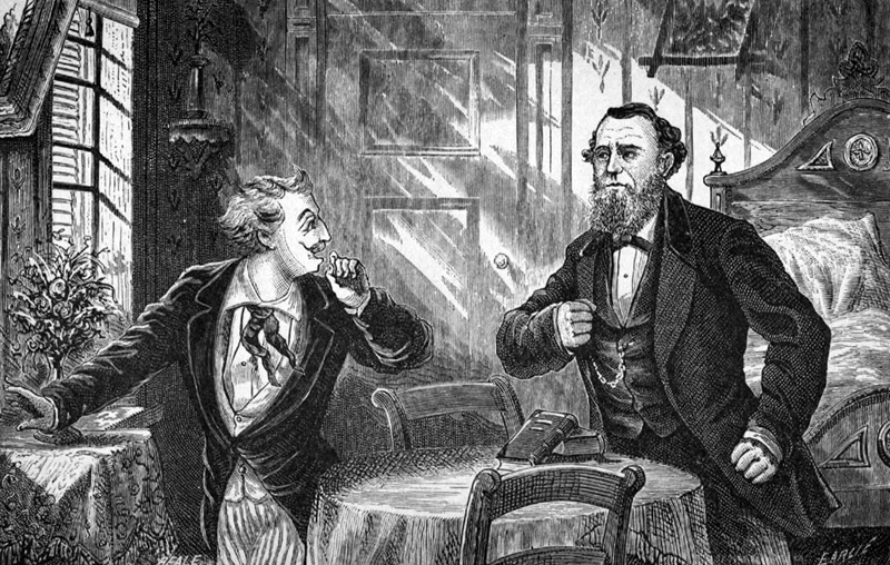 The Spiritualists and the Detectives, by Allan Pinkerton. (A