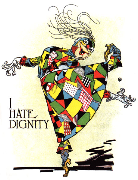 Patchwork Girl - I hate dignity